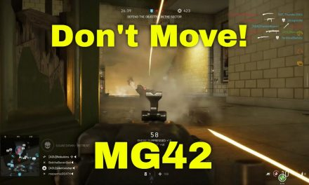 Don't Move! The MG42 Is OP | Battlefield V Highlights