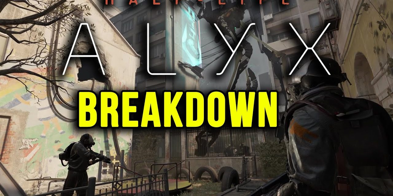 Exciting Half Life Alyx Trailer Breakdown