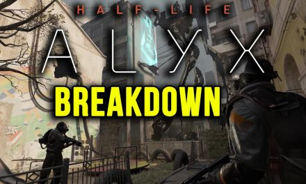 Exciting Half Life Alyx Trailer Breakdown