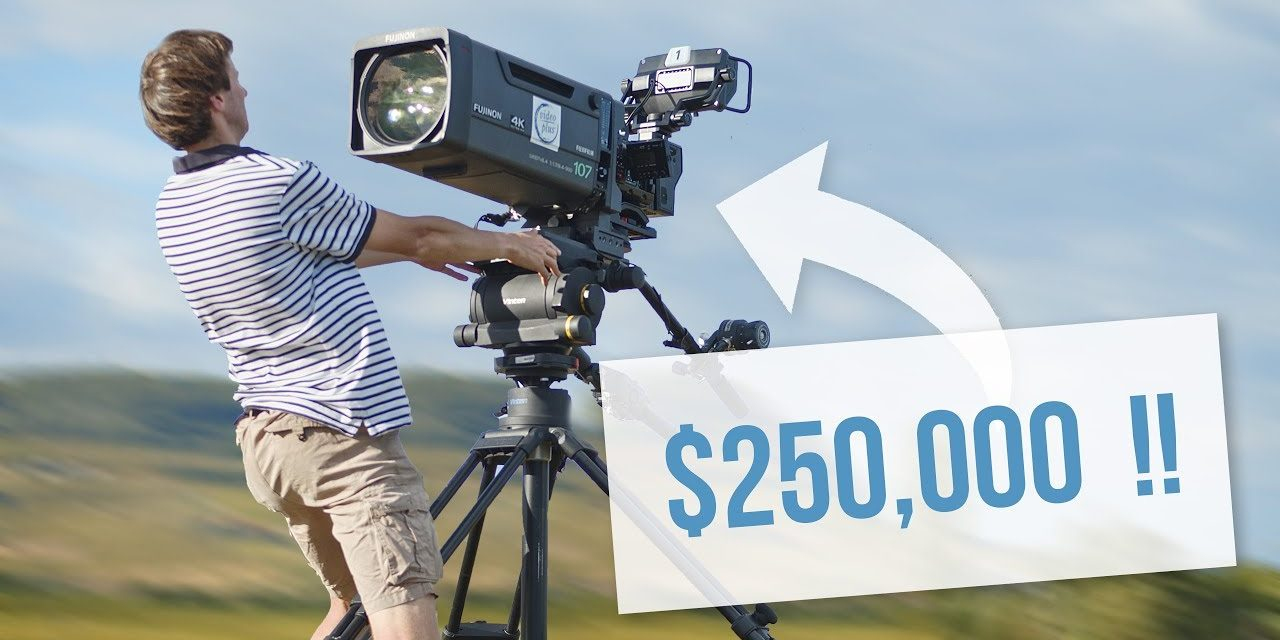 Shooting With a $250,000 INSANE Camera Setup!