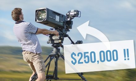 Shooting With a $250,000 INSANE Camera Setup!