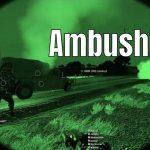Hostile Vehicle Rams Convoy – ARMA 3 Highlight