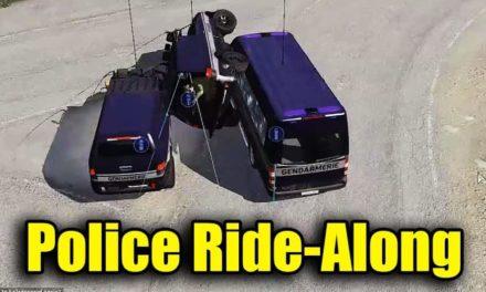 Police Ride Along | Arma 3 Random Moments