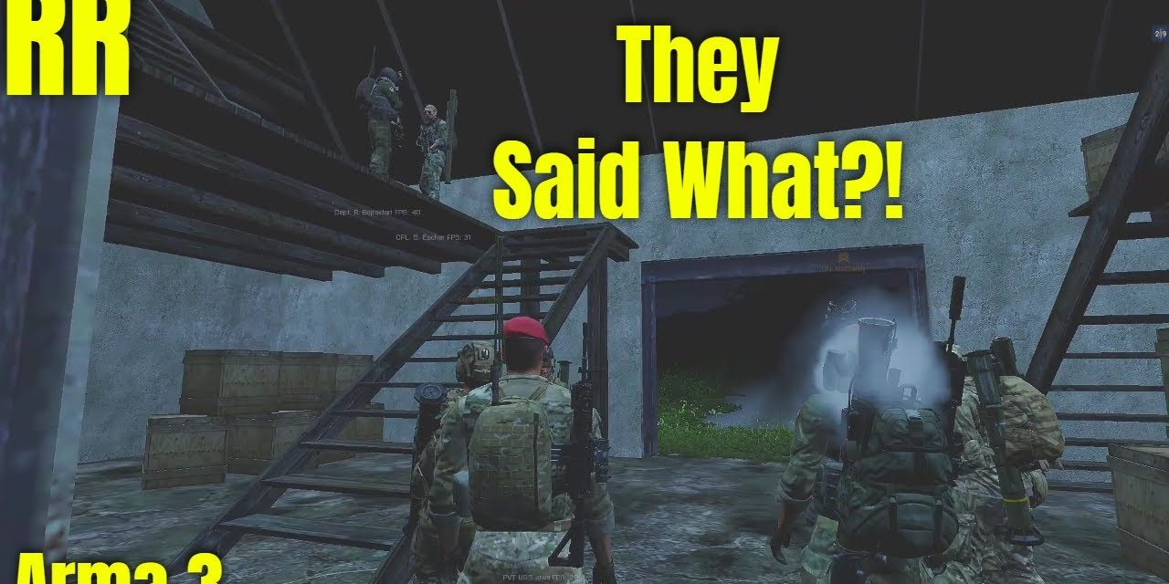 Someone Insulted Their Mother – Arma 3 Funny Moment