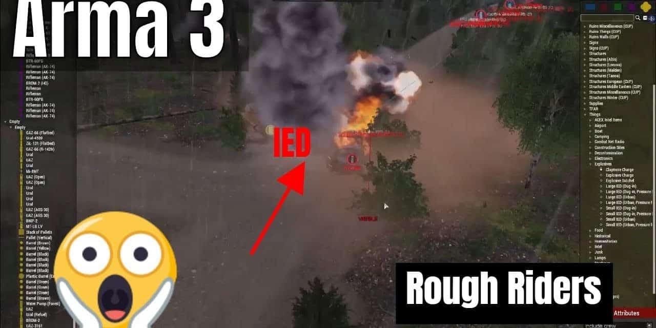 Breaking In – Arma 3 Rough Riders 2.18.2020