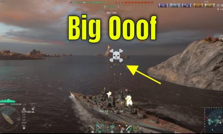 Destroyer Gets Wrecked … Cue Dramatic Music – World Of Warships