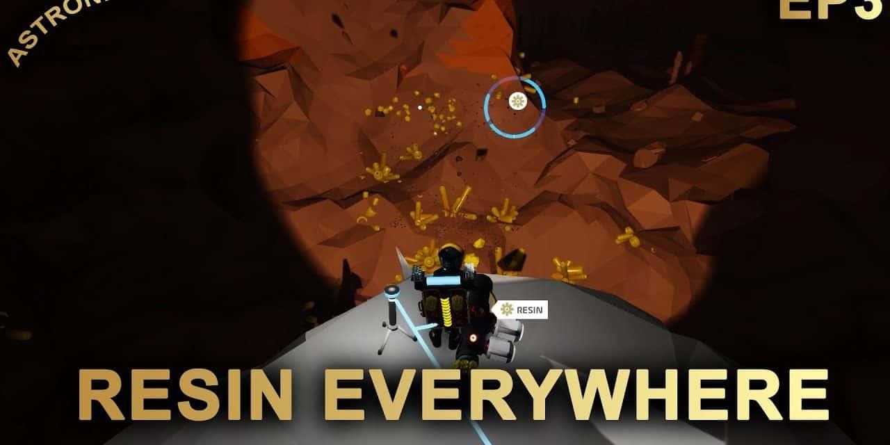 Resin Everywhere! – Astroneer 2020 Series | Episode 3