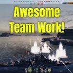 Excellent Teamwork With Tirpitz & 86K Damage Dealt – World Of Warships Gameplay