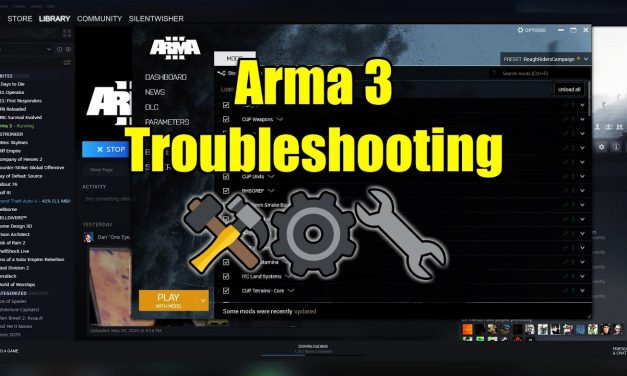 How To Troubleshoot Arma 3 Problems