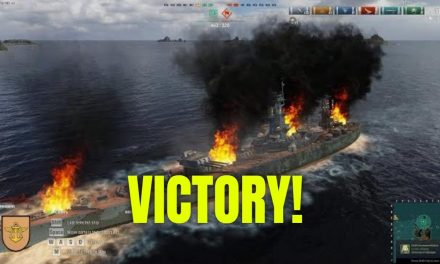 Exciting World Of Warships Match With SWAT – Victory!