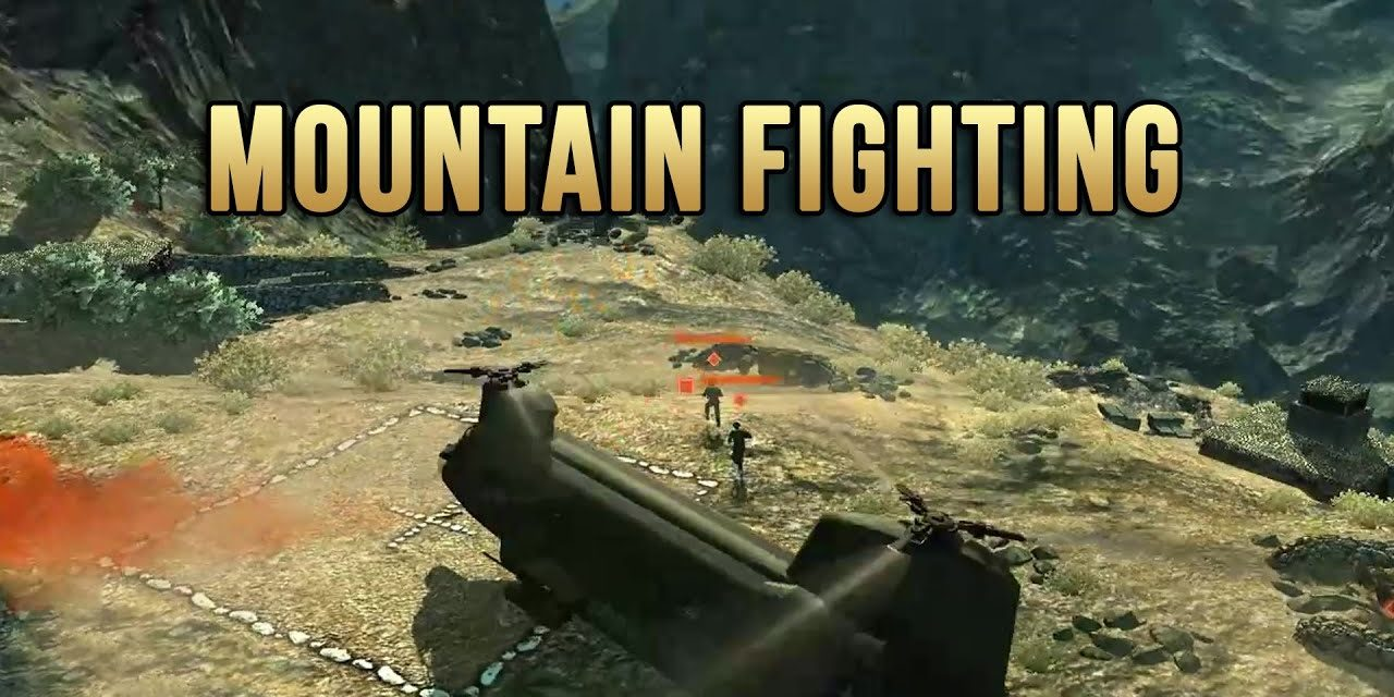 Fighting In The Mountains – Heliborne EP2