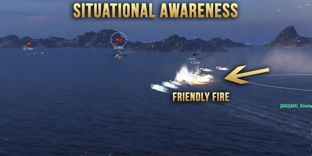 Situational Awareness Is Key – World Of Warships