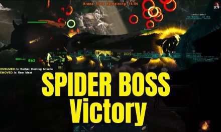 FINALLY BEATING THE SPIDER BOSS – ARK