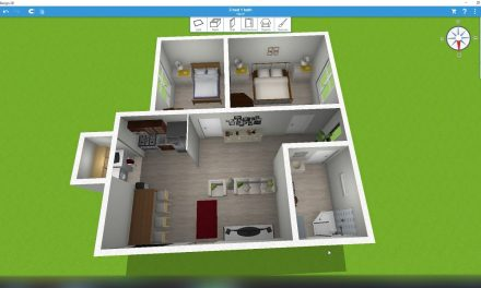 2 Bed 1 Bath 756 ft² – Home Design 3D
