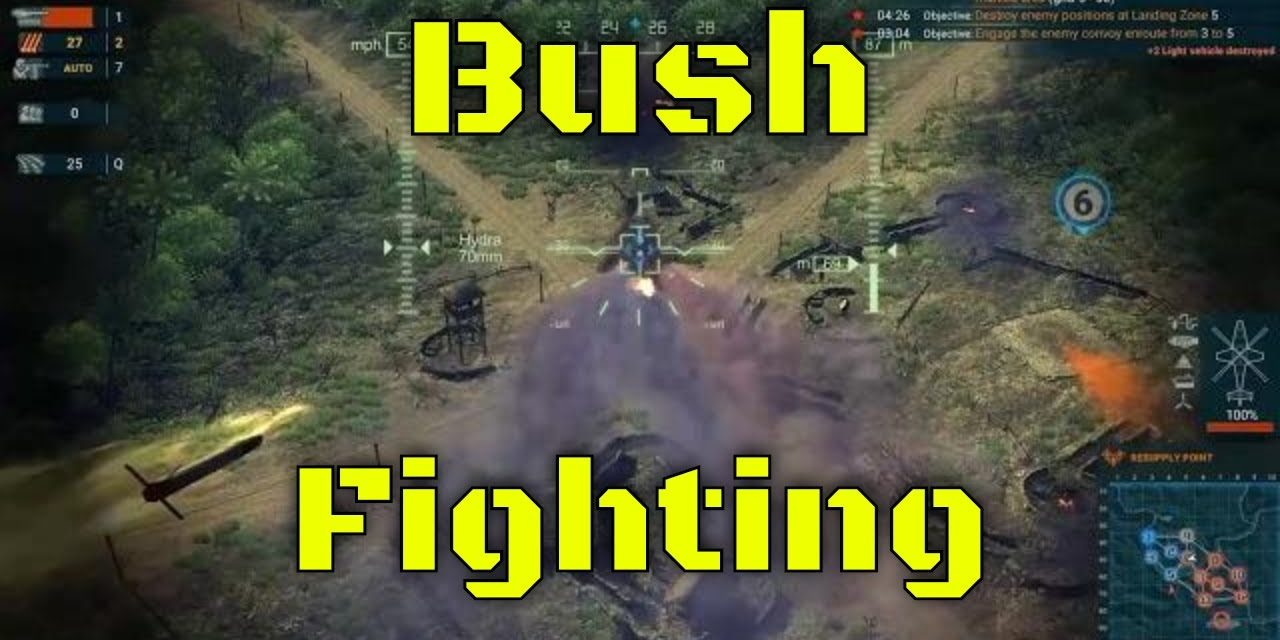 They're in the bushes – Heliborne EP3