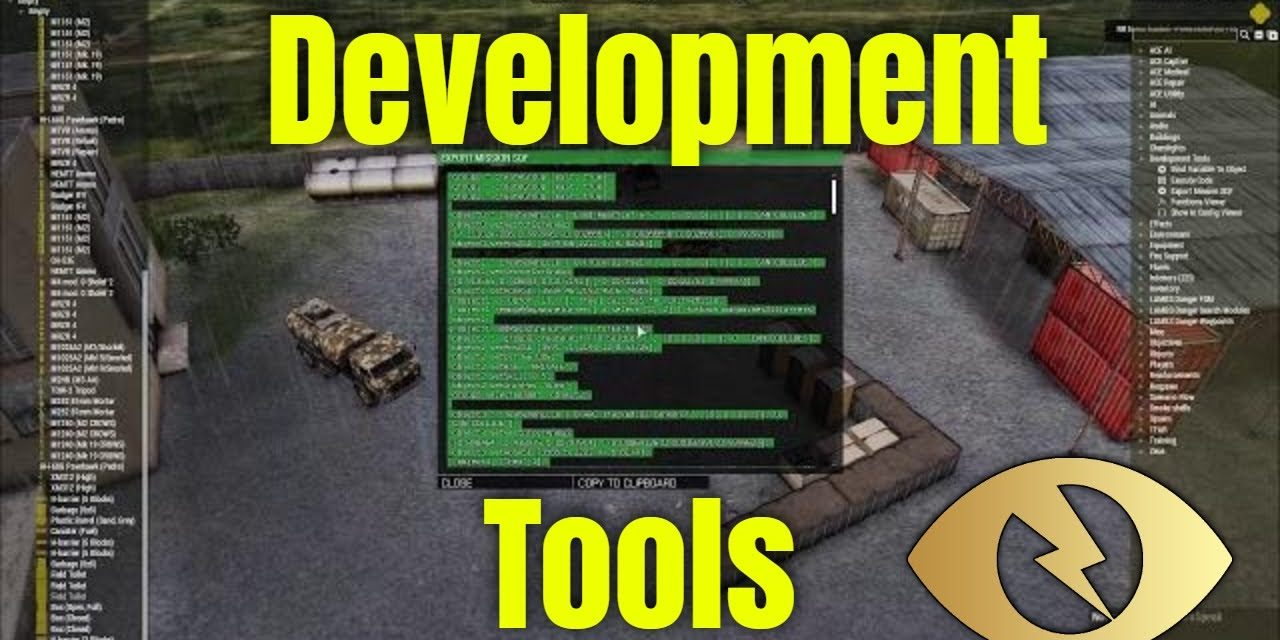 Zeus Development Tools – Arma 3 Zeus Training