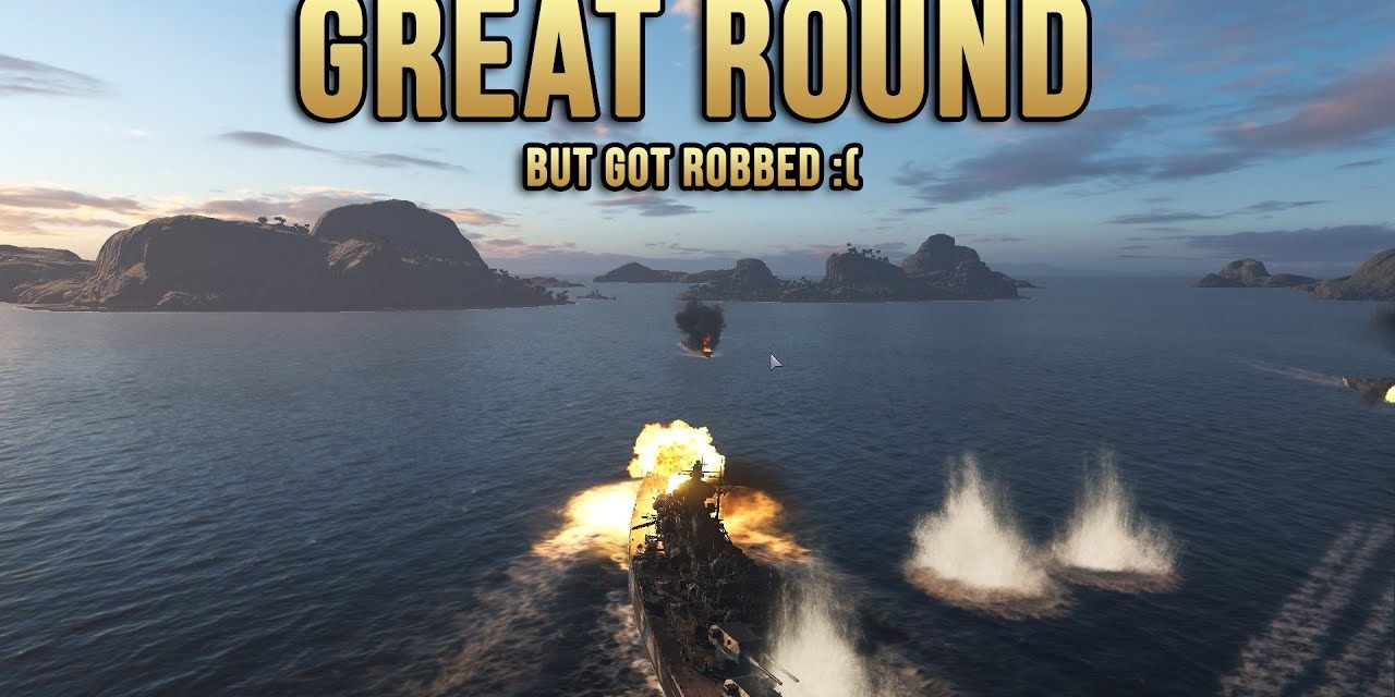 Great Tirpitz Match But Got Robbed At The End – World Of Warships