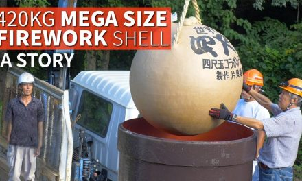 926 Pound Giant Firework Shell Story | The YONSHAKUDAMA