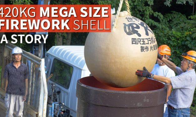 926 Pound Giant Firework Shell Story   The YONSHAKUDAMA
