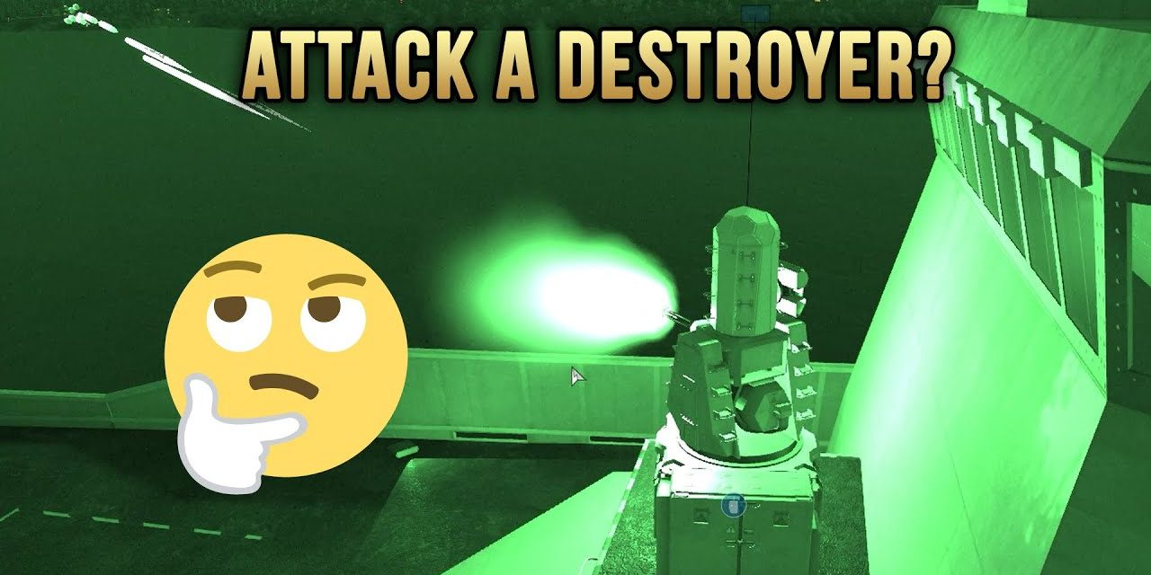Attack A Destroyer? | Arma 3 Rough Riders Highlights
