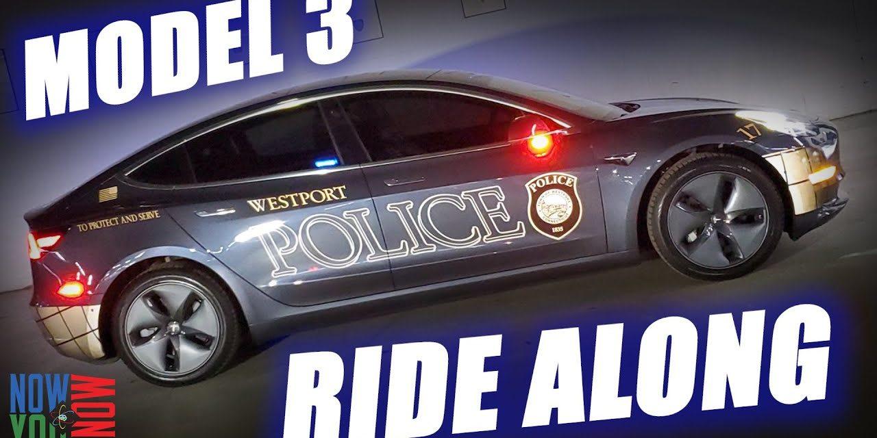 Tesla Police Car Ride Along! | In Depth