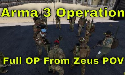 Arma 3 Operation From Start To Finish Zeus View | Rough Riders