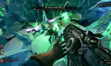 Korlok Tyrant Weed Mini Boss – Deep Rock Galactic