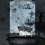 #Shorts COH2 – T34 Sinks To Bottom Of River