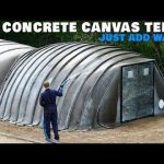 Premade Concrete Canvas Tents – Just Add Water