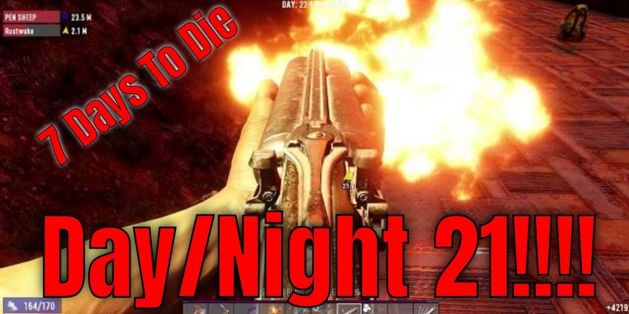 Night 21 In My 7 Days To Die Server