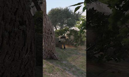 #Shorts Insane Arma 3 Bush Combat