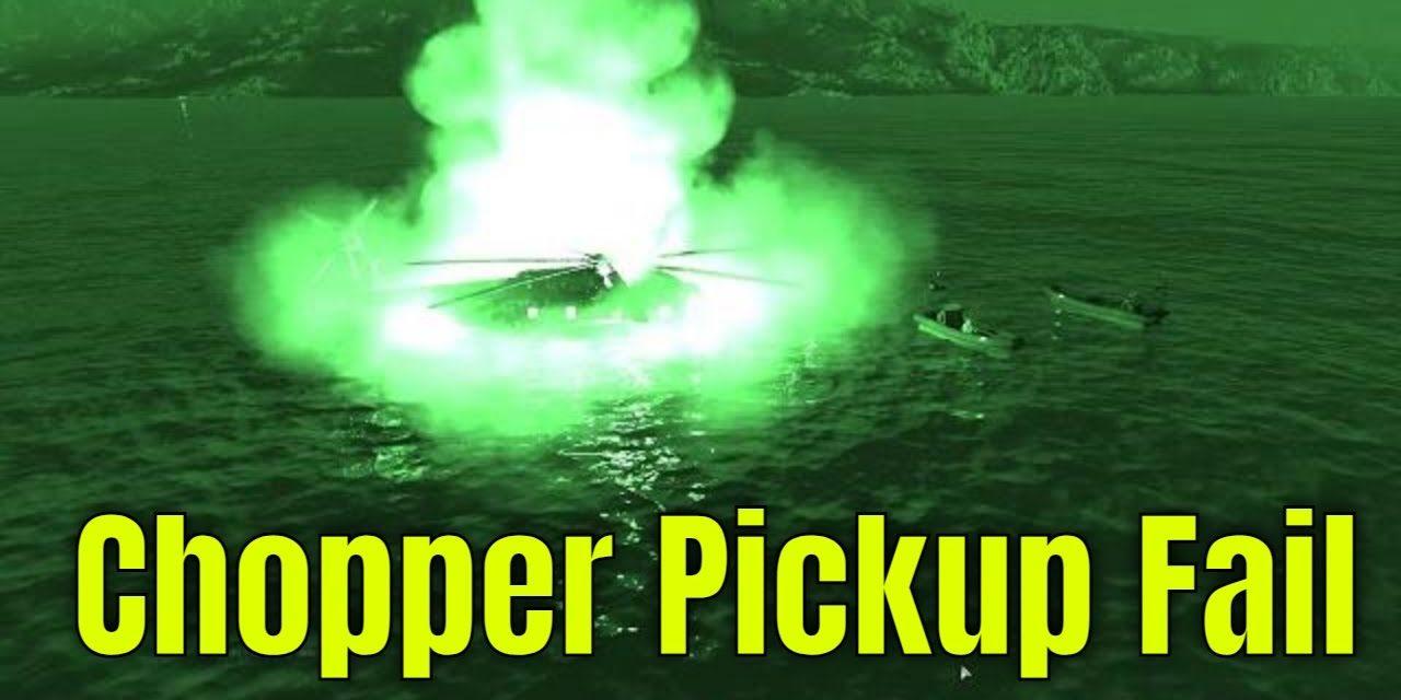 The Chopper Pickup Fail – Arma 3 Highlight Zeus POV