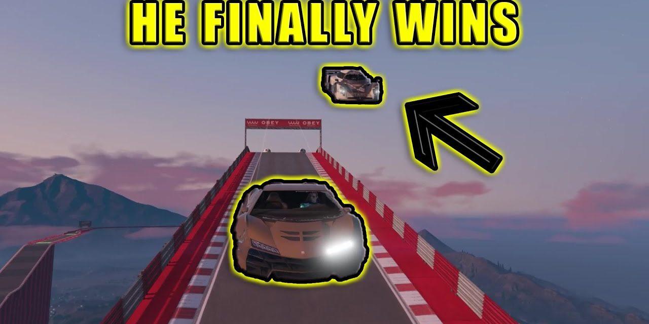 3 In 1 Finale – Rough Riders Racing – GTA Online Stunt Racing