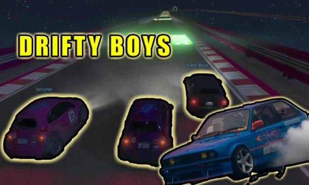 Drifty Boys – Rough Riders Racing – GTA Online Stunt Racing