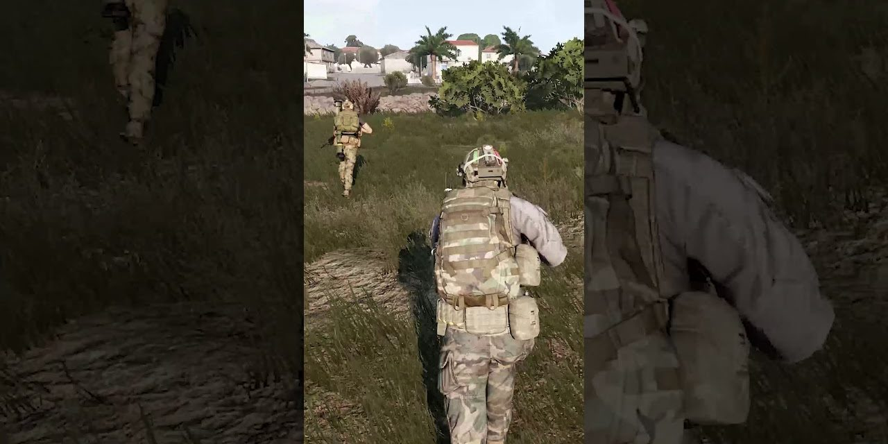 #Shorts The RED ROOF – Arma 3 Funny Highlight