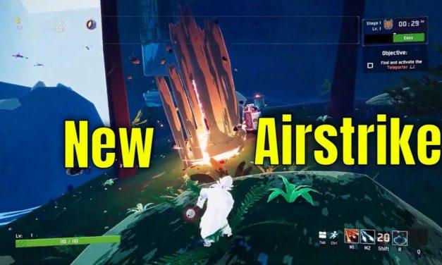 New Captain Airstrike Ability [OGM-72 Diablo Strike] – Risk Of Rain 2
