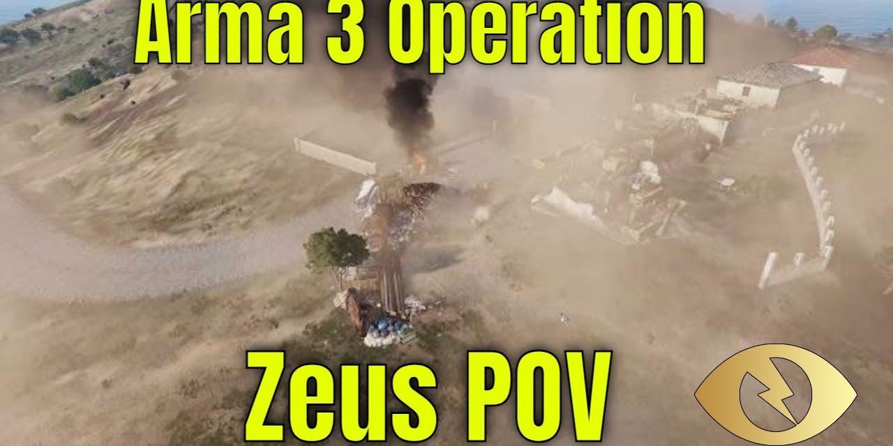 Arma 3 Kavala City Operation From Zeus POV – Rough Riders