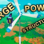 Large Wind Turbine, Large Solar Panel & XL Wind Turbine – Astroneer