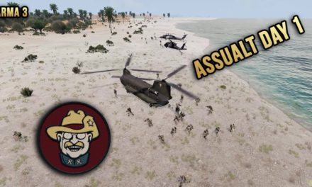 Rough Riders First Day In Mogadishu – Arma 3 Highlights