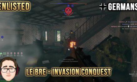 Le Bre Invasion Quick Conquest | Germans | Enlisted №2