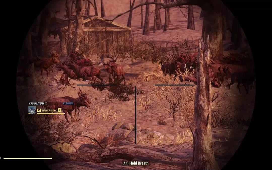 Insane Animal Spawning Bug – Fallout 76