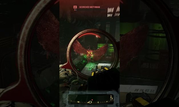#Shorts Scorched Mothman Fight – Fallout 76