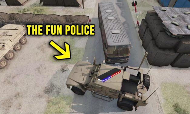 The Fun Police – Operation Chevaliers Day 2 Highlights – Arma 3 Zeus POV
