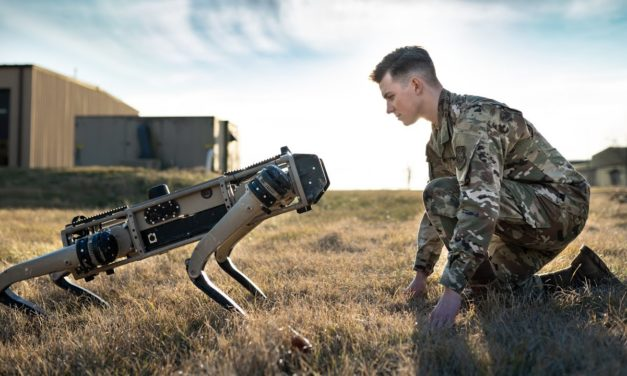 Robotic Ghost Dog   The Future of Military Security